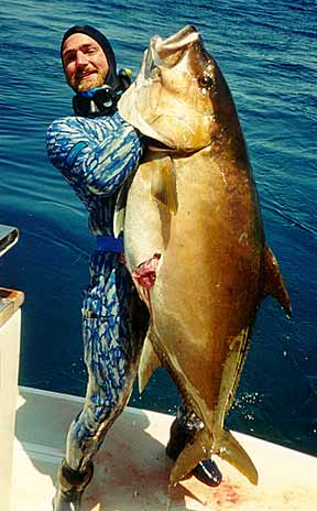 World Record Amberjack Scott merlo